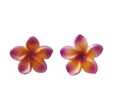 POP frangipani earrings