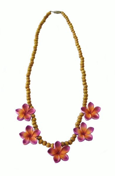 POP Frangipani necklace