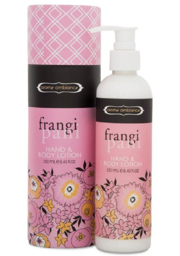frangipani hand and body lotion